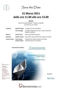 save the date Controvento