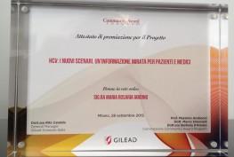 targa premiazione
